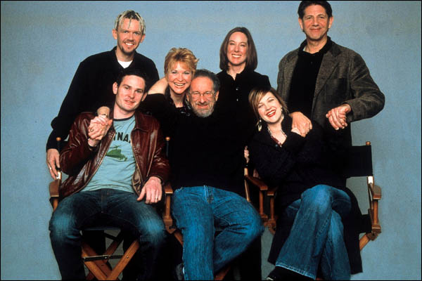E.T. l'extra-terrestre : Photo Dee Wallace, Drew Barrymore, Henry Thomas, Kathleen Kennedy, Peter Coyote