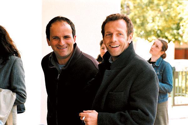 Le Grand rôle : Photo Lionel Abelanski, Stéphane Freiss, Steve Suissa