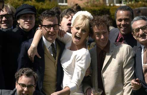 Moi, Peter Sellers : Photo Charlize Theron, Geoffrey Rush
