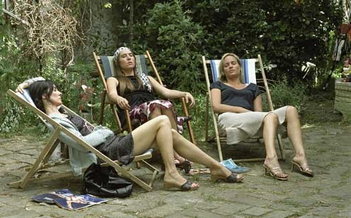 Judith Godrèche, Mathilde Seigner et Anne Parillaud