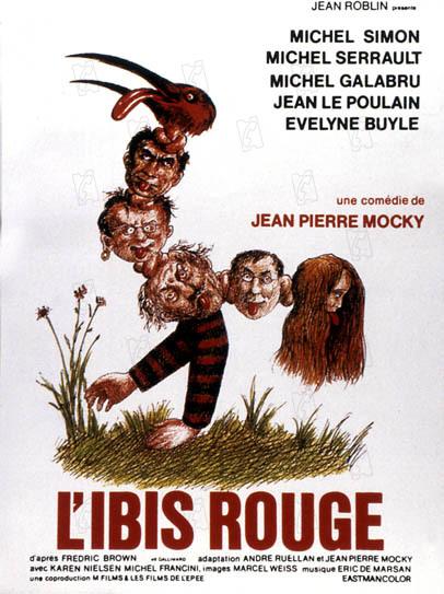 L'Ibis rouge : Affiche Jean-Pierre Mocky, Michel Serrault