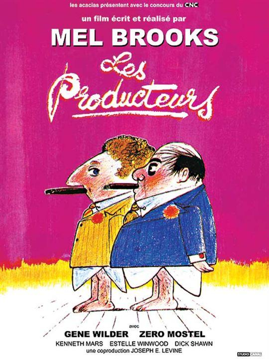 Les Producteurs : Affiche Mel Brooks