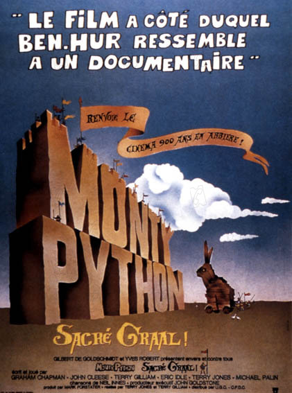 Monty Python, sacré Graal : Photo Graham Chapman, John Cleese