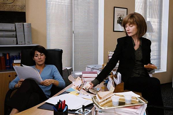 L'Ivresse du pouvoir : Photo Claude Chabrol, Isabelle Huppert, Marilyne Canto