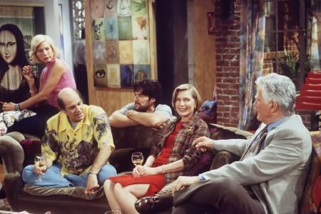 Dharma et Greg : Photo Alan Rachins, Jenna Elfman, Mitchell Ryan, Susan Sullivan, Thomas Gibson