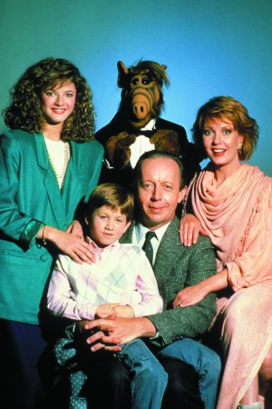 ALF : Photo Andrea Elson, Anne Schedeen, Benji Gregory, Max Wright