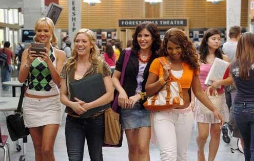 Nicole LaPlaca, Brittany Snow, Sophia Bush et Ashanti