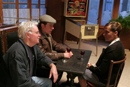 Le Cri : Photo Dominique Blanc, Francis Renaud, Hervé Baslé