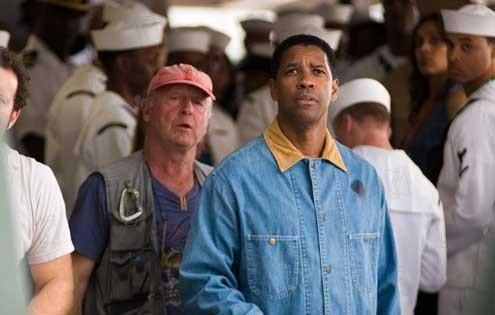 Tony Scott et Denzel Washington