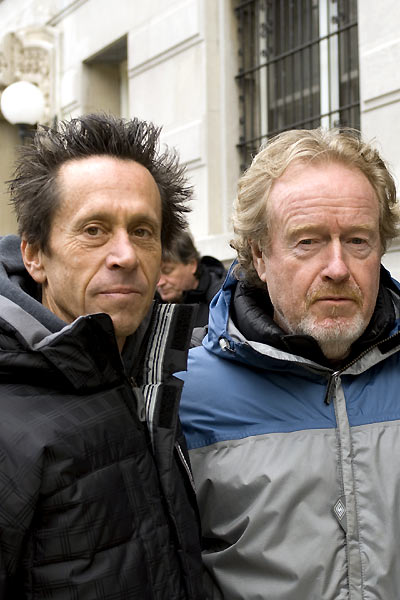 American Gangster : Photo Brian Grazer, Ridley Scott
