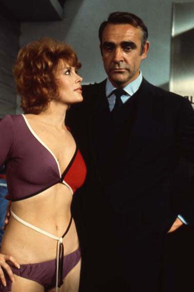 Jill St. John et Sean Connery
