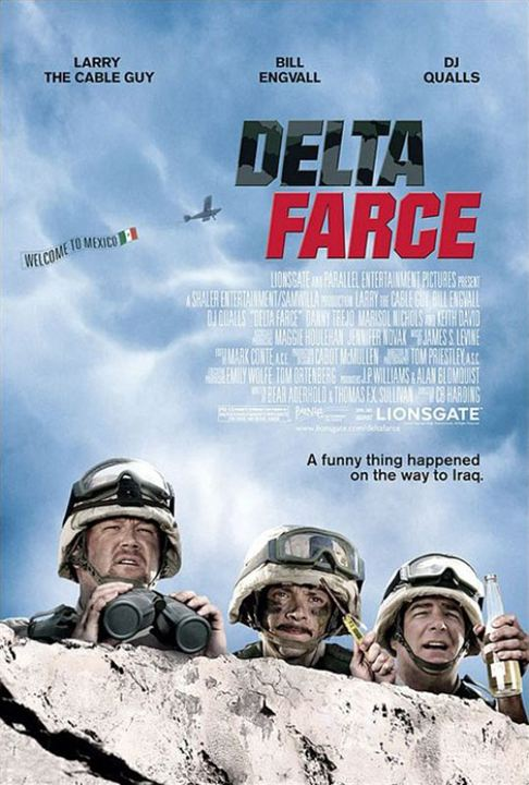 Delta Farce : Affiche Bill Engvall, C.B. Harding, DJ Qualls, Larry The Cable Guy