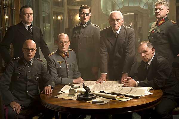 Christian Berkel, Eddie Izzard, Bill Nighy, Tom Cruise, Alan Dale et Kenneth Branagh
