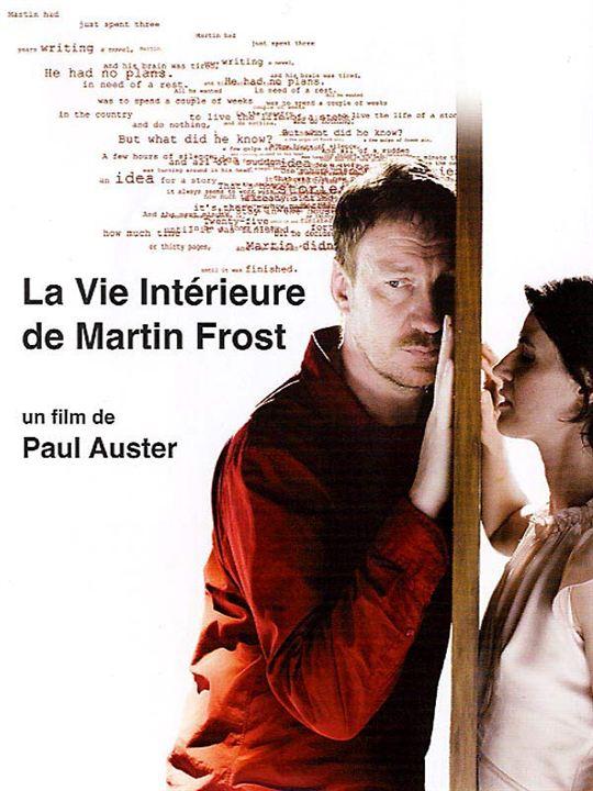 La Vie intérieure de Martin Frost : Affiche Paul Auster