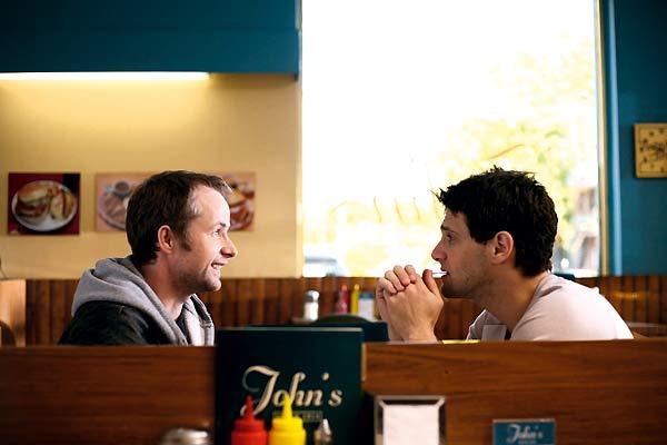 Justin Bartha et Billy Boyd