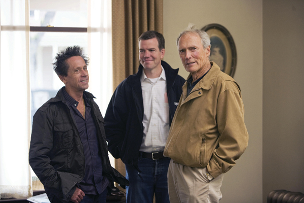 L'Echange : Photo Brian Grazer, Clint Eastwood, Robert Lorenz