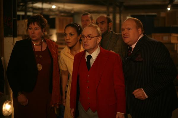 Yolande Moreau, Michel Blanc, Philippe Khorsand et Franck De La Personne