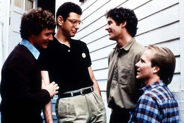 Les Copains d'abord : Photo Jeff Goldblum, Kevin Kline, Lawrence Kasdan, Tom Berenger, William Hurt