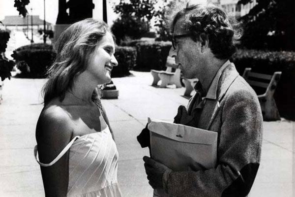 Woody Allen et Marie-Christine Barrault