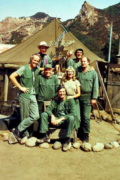M.A.S.H. : Photo Alan Alda, David Ogden Stiers, Harry Morgan, Loretta Swit, Mike Farrell