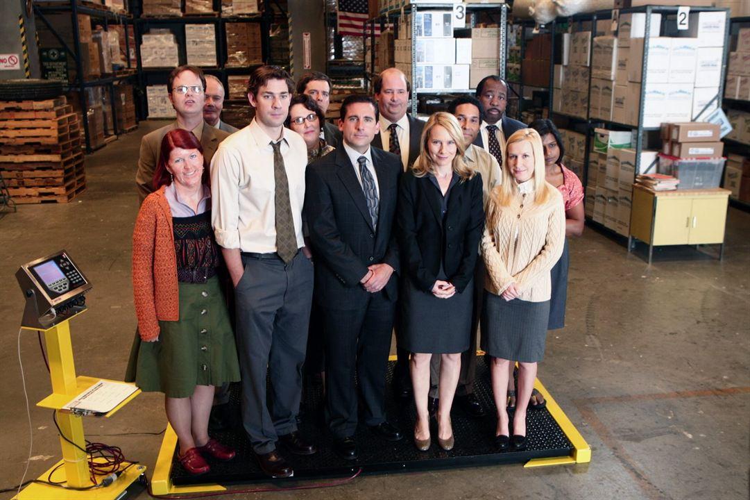 The Office (US) : Photo Amy Ryan, Angela Kinsey, Brian Baumgartner, Creed Bratton, Ed Helms