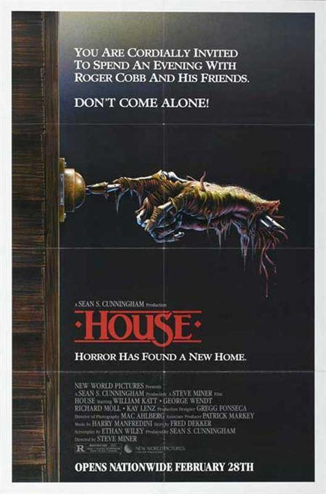 House : Affiche Steve Miner