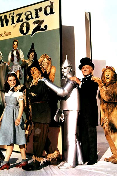 Le Magicien d'Oz : Photo Bert Lahr, Frank Morgan, Jack Haley, Judy Garland, Ray Bolger