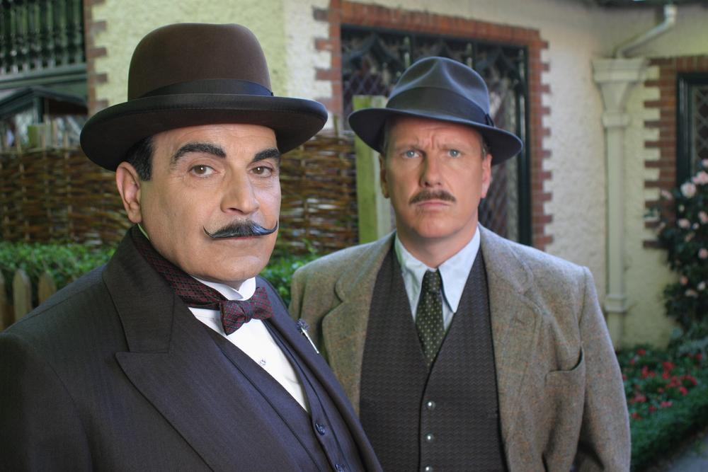 Hercule Poirot : Photo David Suchet