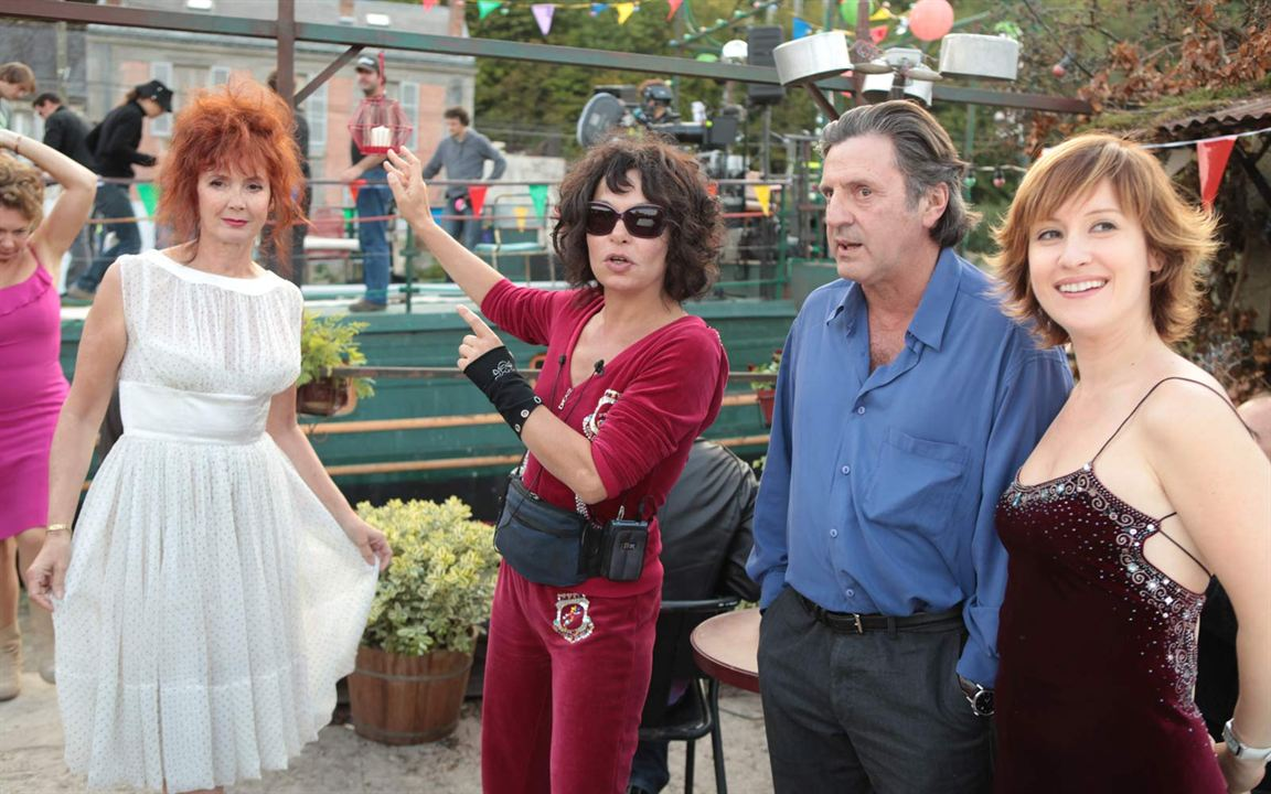 Donnant, Donnant : Photo Daniel Auteuil, Isabelle Mergault, Medeea Marinescu, Sabine Azéma