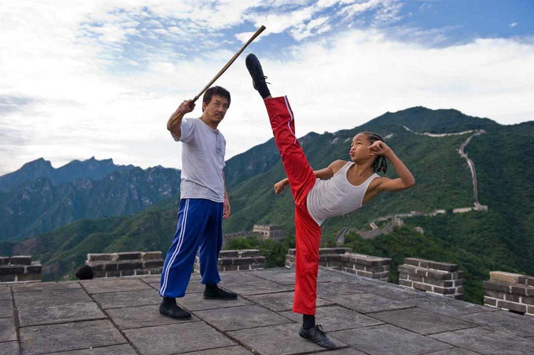 Jackie Chan et Jaden Smith