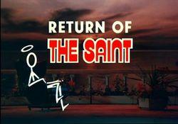 Le retour du Saint : Affiche