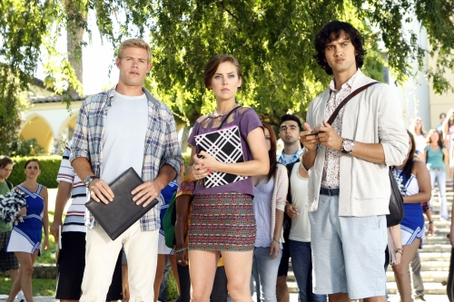 90210 Beverly Hills Nouvelle Génération : Photo Jessica Stroup, Michael Steger, Trevor Donovan