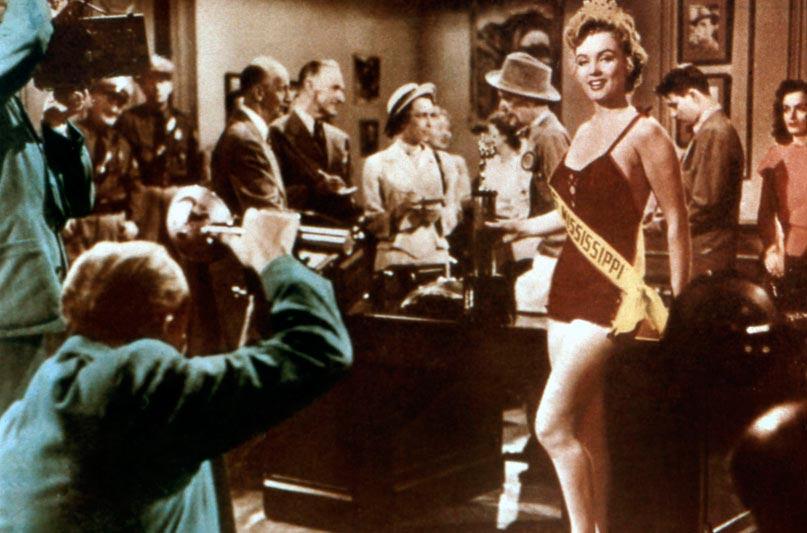Cinq Mariages a l'essai : Photo Edmund Goulding, Marilyn Monroe