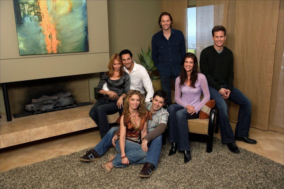 What about Brian : Photo Amanda Detmer, Barry Watson, Matthew Davis, Raoul Bova, Rick Gomez