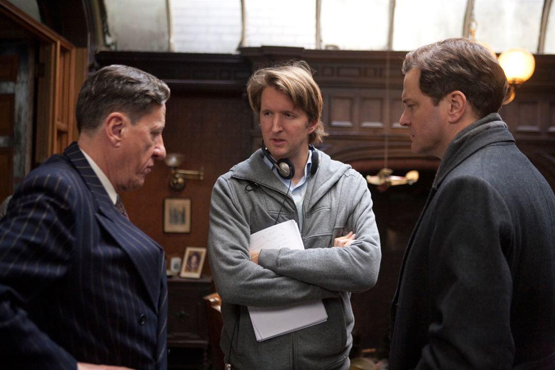 Le Discours d'un roi : Photo Colin Firth, Geoffrey Rush, Tom Hooper