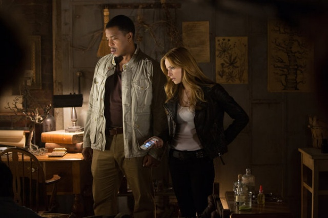 Photo Jaime Ray Newman, Russell Hornsby