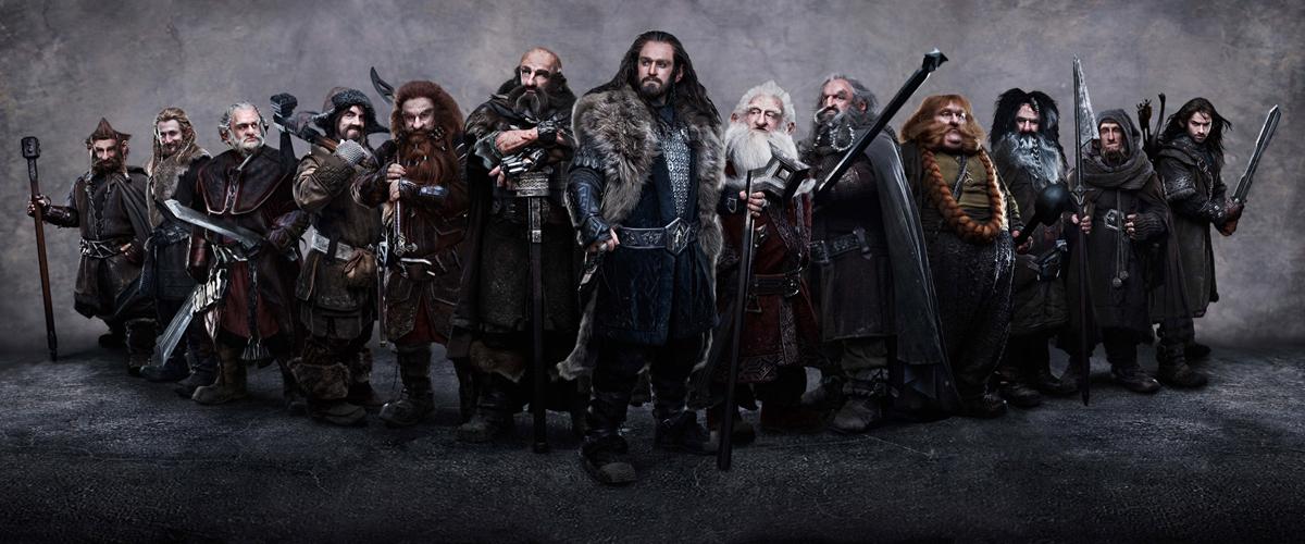 Le Hobbit : un voyage inattendu : Photo Adam Brown, Aidan Turner, Dean O'Gorman, James Nesbitt, Jed Brophy