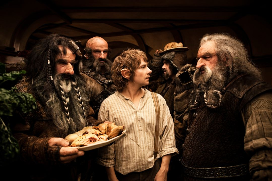 Le Hobbit : un voyage inattendu : Photo Graham McTavish, James Nesbitt, John Callen (II), Martin Freeman, William Kircher