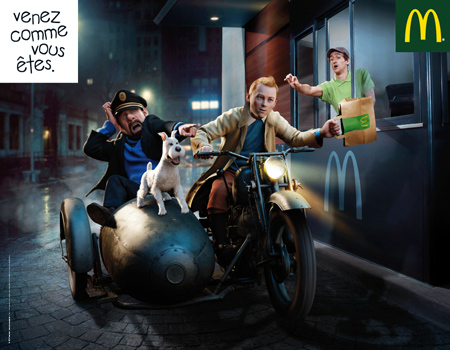 Pubs McDonald's avec nos personnages de jeux vidéo 19799220