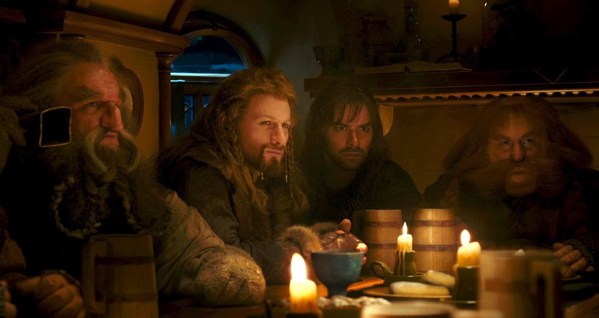 Le Hobbit : un voyage inattendu : Photo Aidan Turner, Dean O'Gorman, John Callen (II), Stephen Hunter