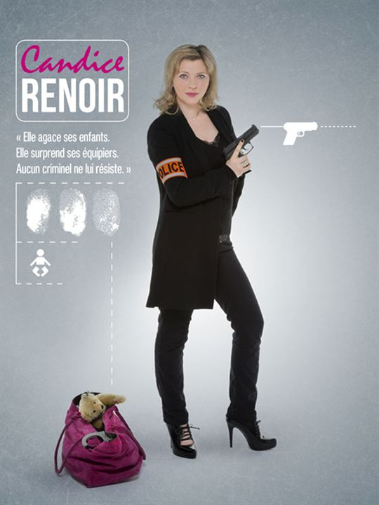 Candice Renoir : Affiche