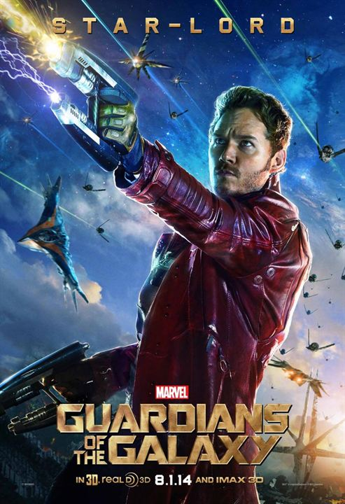 Peter Quill, alias Star-Lord (Chris Pratt)
