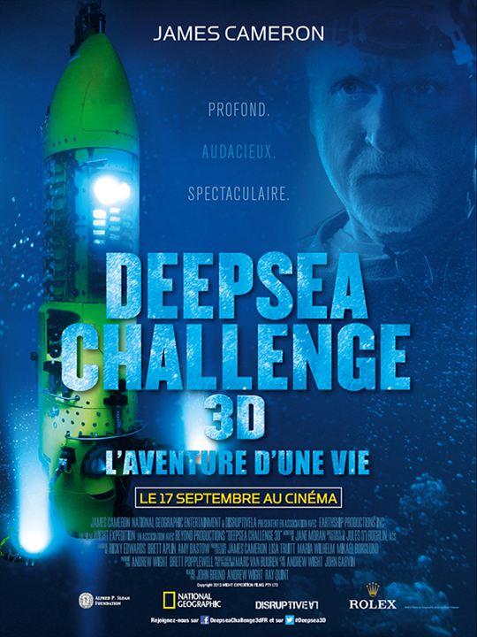 Deepsea Challenge 3D, l'aventure d'une vie - Sortie le 17 septembre 2014