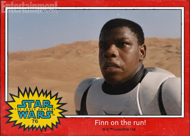 Star Wars VII : découvrez les petits nouveaux
