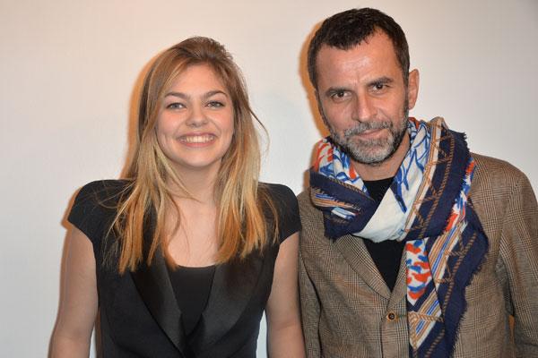 Louane Emera et Eric Lartigau