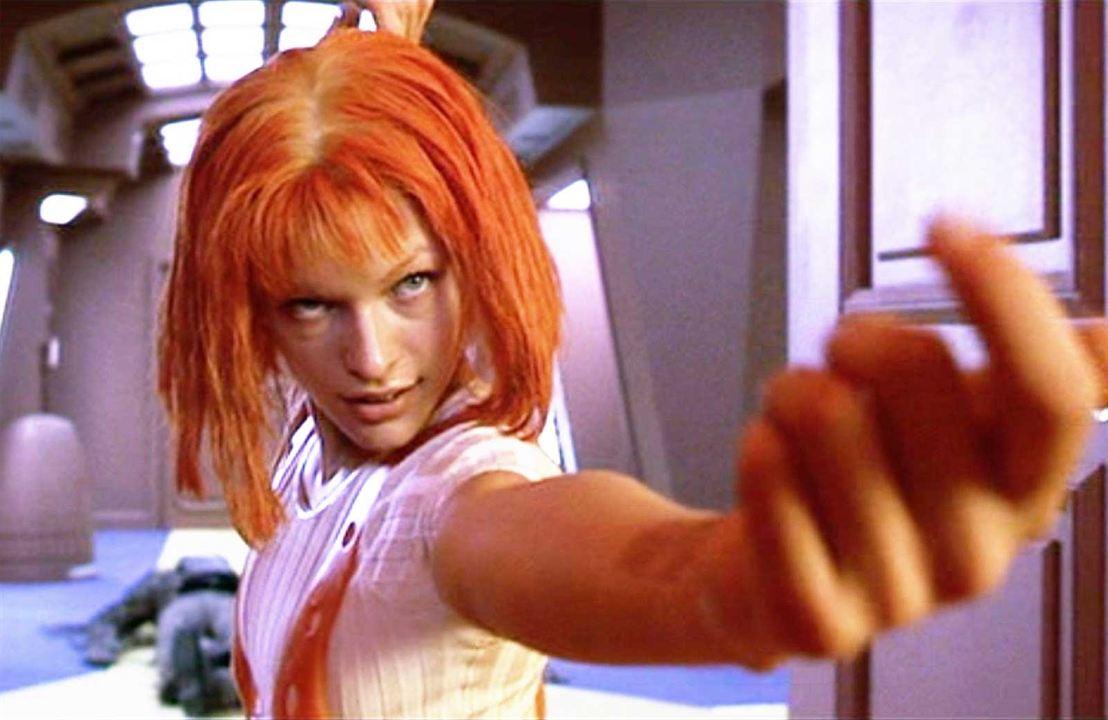 "Milla Jovovich alias ""Leeloo"""