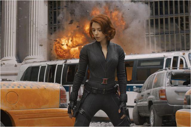 "Scarlett Johansson alias ""Black Widow"""