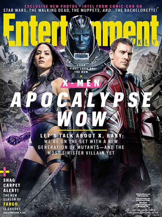 X-Men Apocalypse : les premières photos
