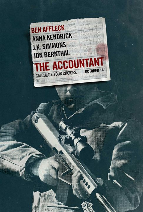 The Accountant - Sortie le 26 octobre 2016