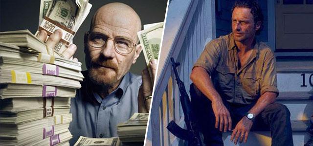 Les plus rentables - Breaking Bad / The Walking Dead